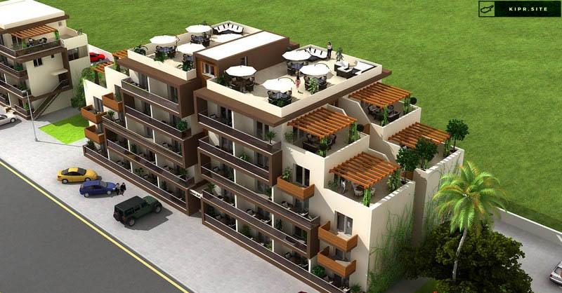 На Северном Кипре Квартира в жилой комплексе на побережья Лонг-Бич.