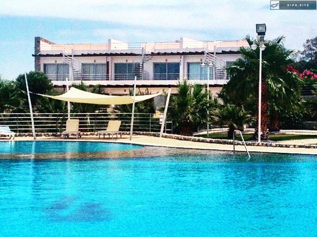 Продаётся двухкомнатная квартира на Северном Кипре.