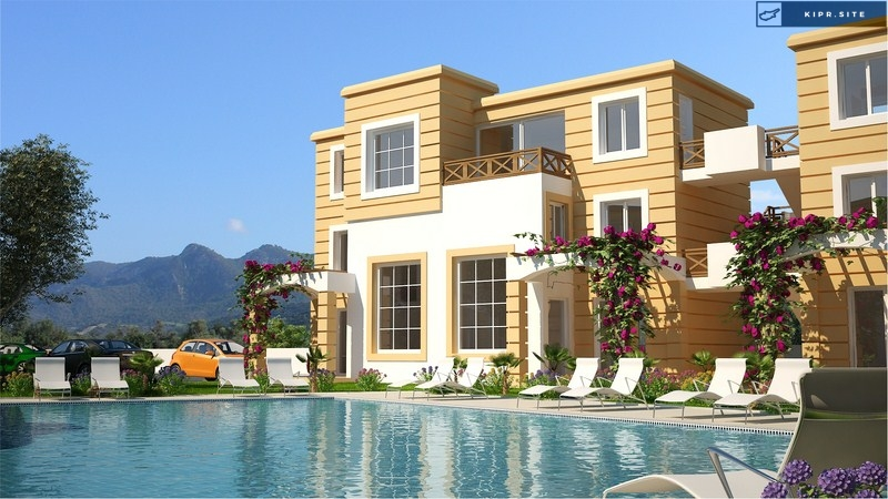 Проект Çatalköy Sahil Evleri на Северном Кипре.