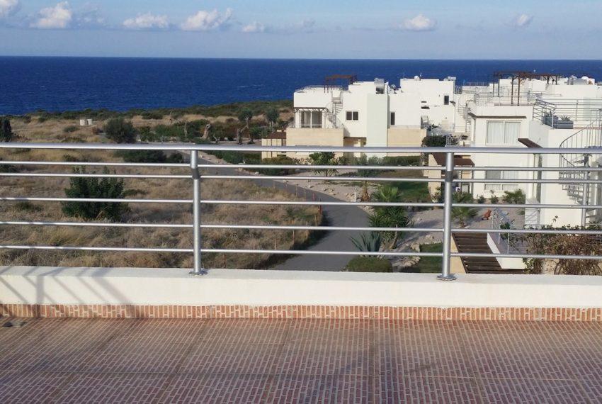 Пентхаус с 2 спальнями находится в Тартл Бэй на Северном Кипре.