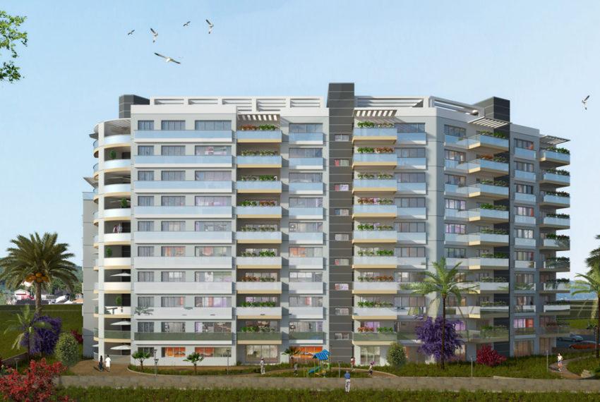 Апартаменты 159м2 и в шаговой доступности новая гавань на Северном Кипре.