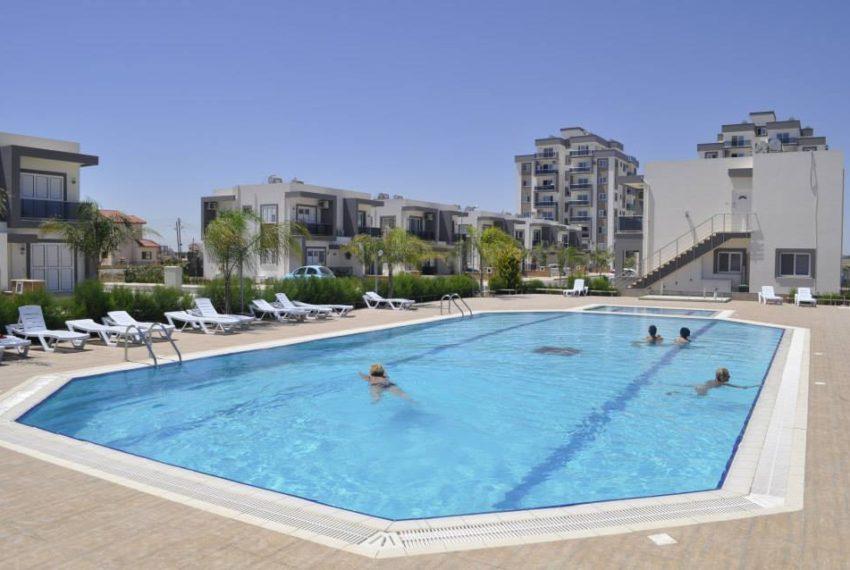 Построенный жилой комплекс Long Beach Life на Северном Кипре.