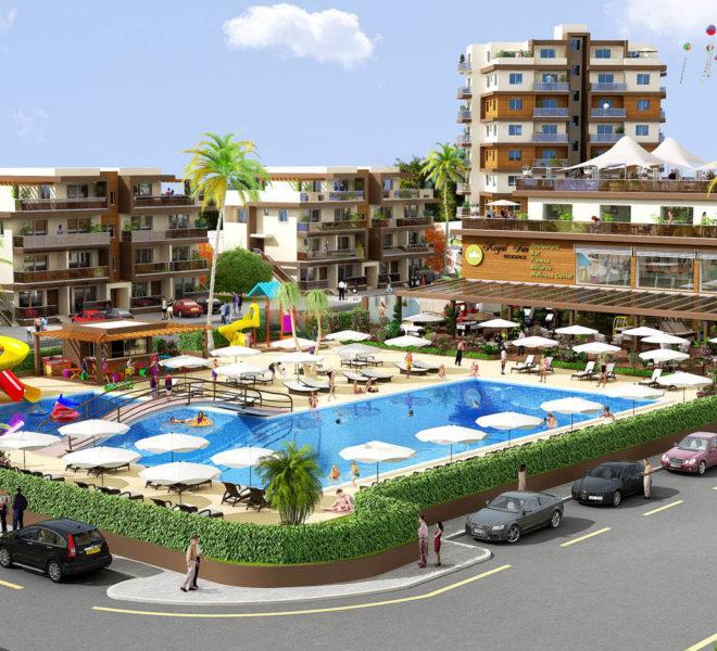 Жилой комплекс Royal Sun Residence на Северном Кипре.