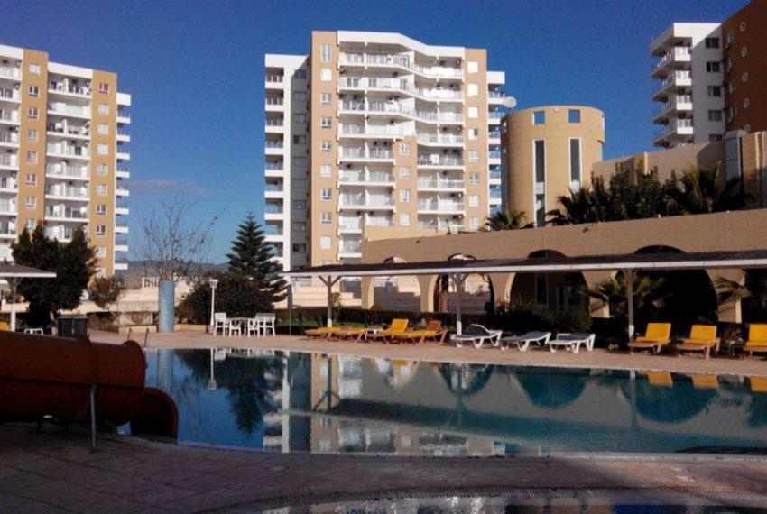 Роскошные, великолепно меблированные апартаменты с эксклюзивным дизайном, площадью почти 100 м2 на Северном Кипре