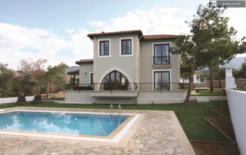 Восхитительные виллы разном дизайне на Северном Кипре.