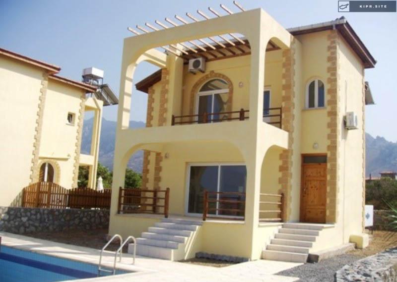 Вилла в тихой деревне Каршияка на Северном Кипре.