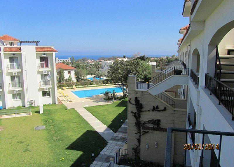 Двуспальный пентхаус на Северном Кипре.