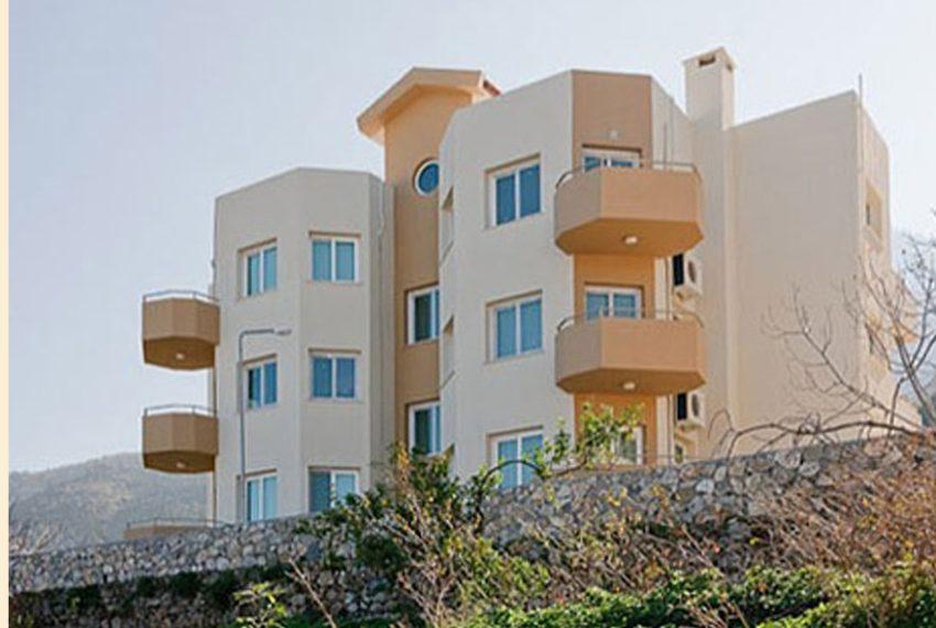 Пентхаус с тремя спальными комнатами на Северном Кипре.