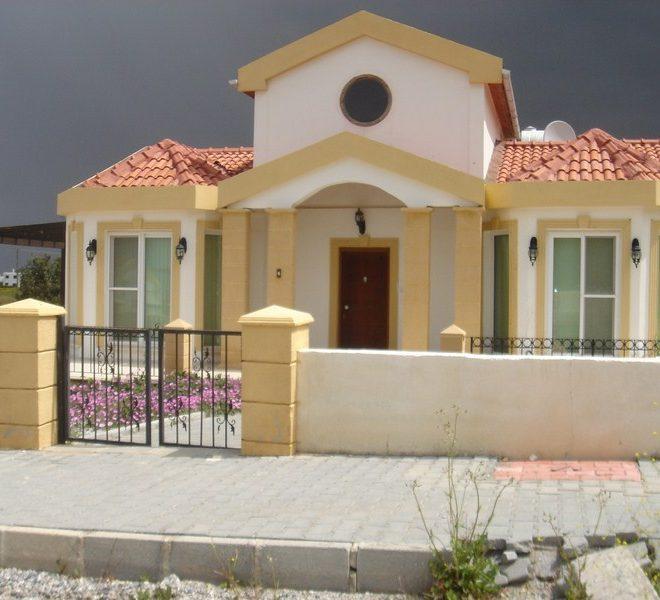 Вилла с красивым дизайном на Северном Кипре.