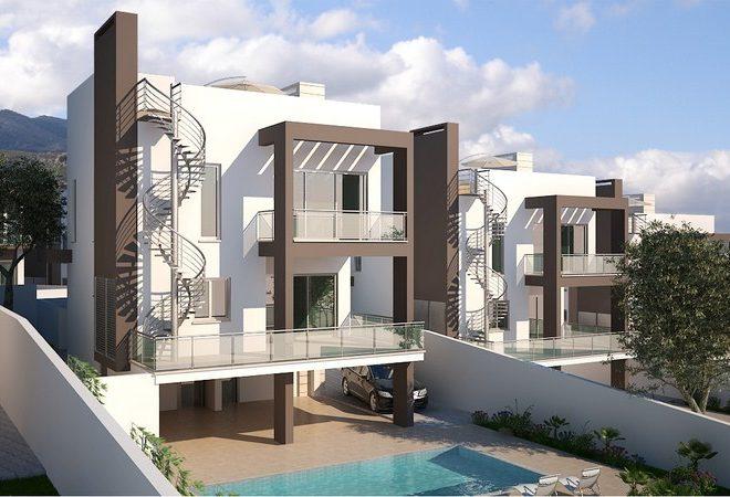 Замечательный комплекс на Северном Кипре, в пяти минутах ходьбы от центра Кирении.