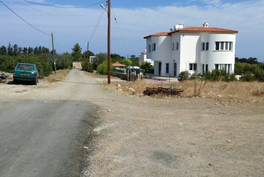 Участок на морском побережье Каршияки на Северном Кипре.