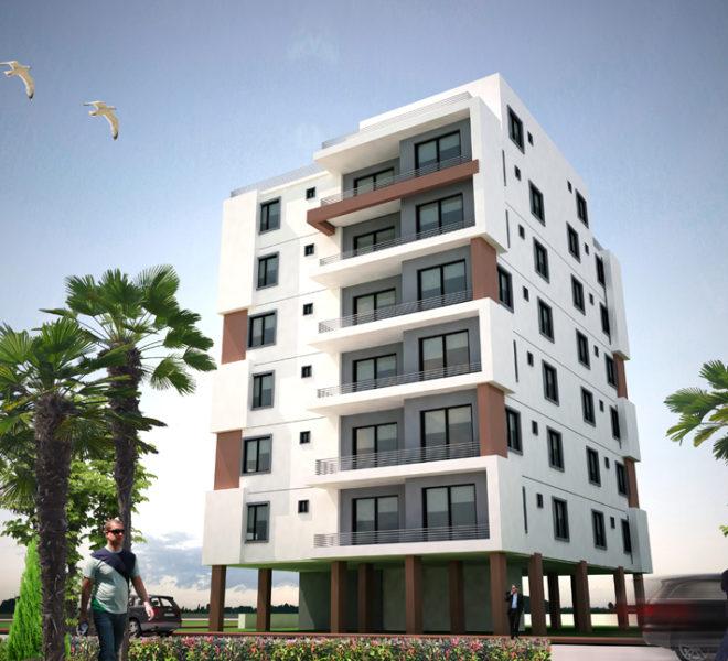 Квартира у самого морского побережья Long Beach на Северном Кипре.