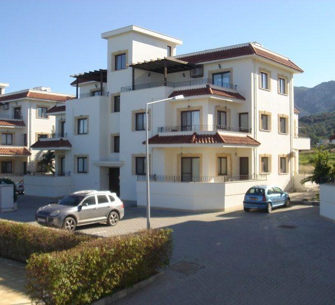 трехкомнатные апартаменты с современным дизайном на Северном Кипре.