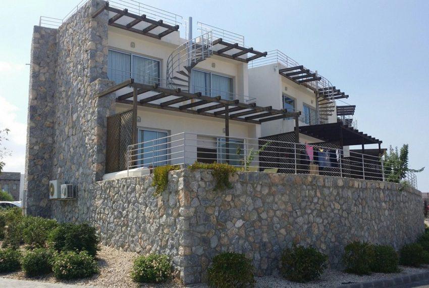 Квартиры с видом на великолепную Пальмовую Бухту на Северном Кипре.