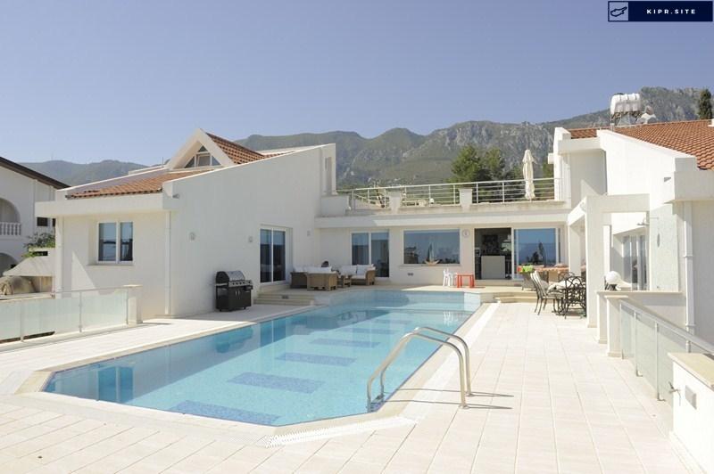 Роскошная пятикомнатная вилла в популярном районе Эдремит Северный Кипр.