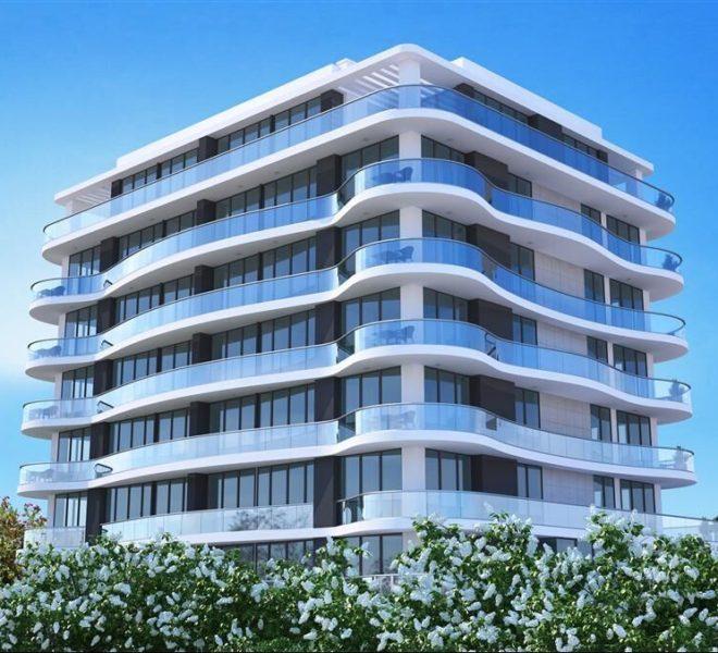 Апартаменты, расположенные в верхней части города Кирения