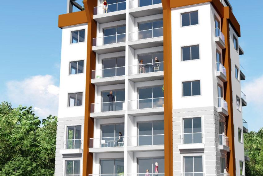 Двух спальные 85м2 квартиры на Северном Кипре