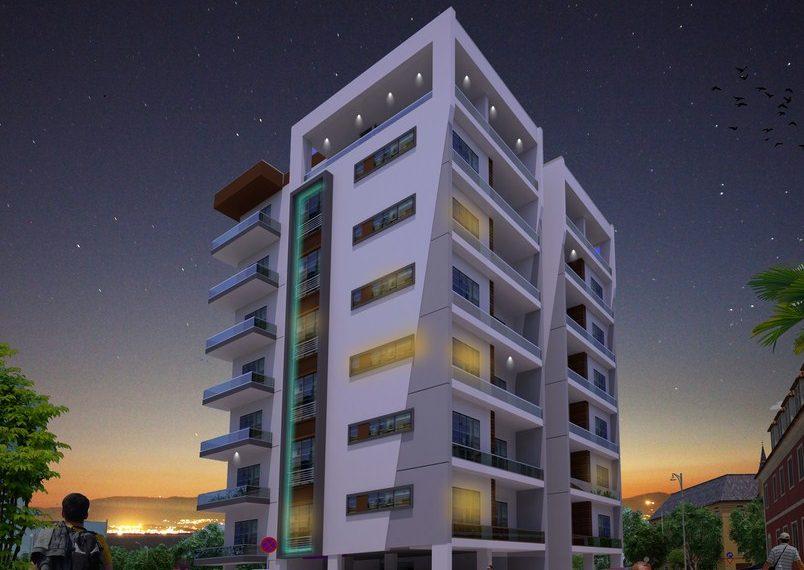 "Трёхкомнатная квартира в ""Кирения Парк"" на Северном Кипре."