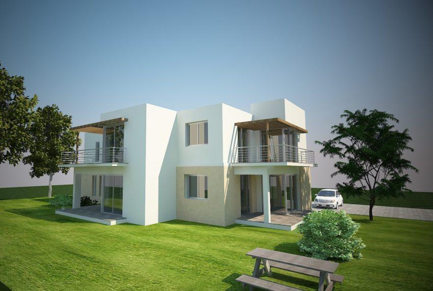Апартаменты состоят из 44м2 жилой площади и одной спальни на Северном Кипре