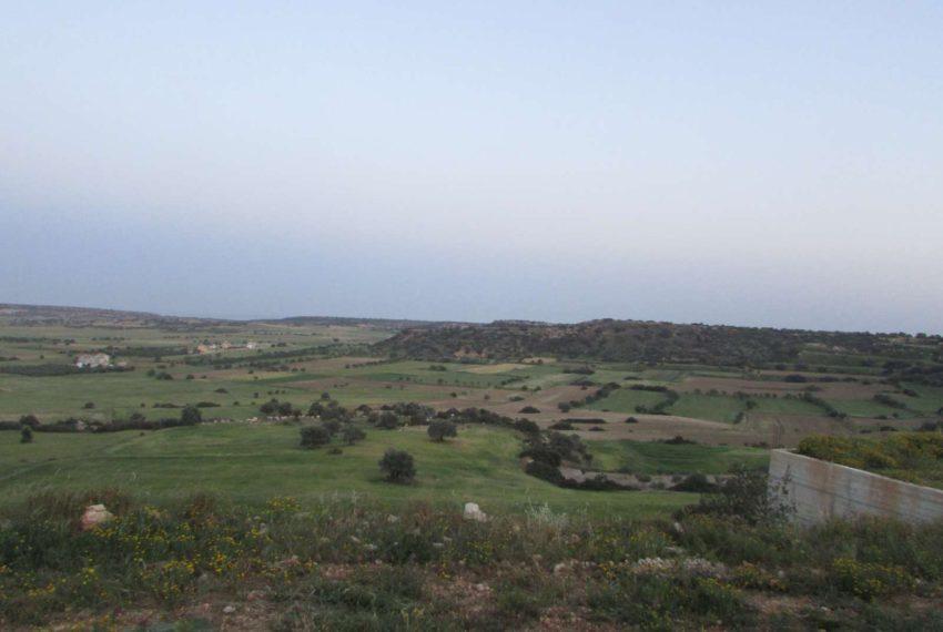 Земельный участок с ошеломляющим пейзажем На Северном Кипре!