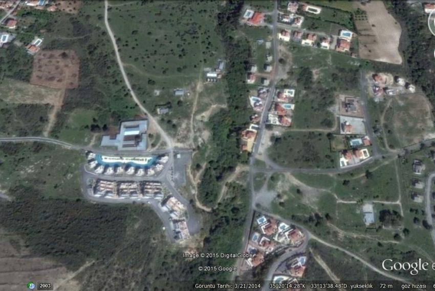 Земля на склоне горы в деревне Алсанджак на Северном Кипре!
